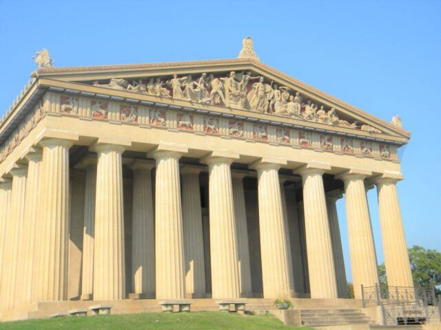 The Parthenon, not in Greece, but in Nashville, TN