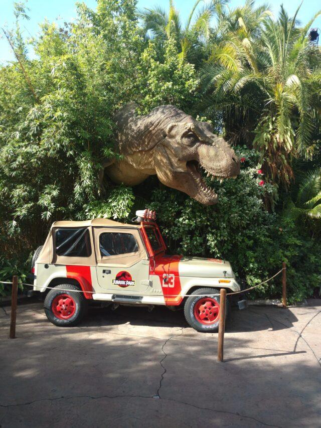 Universal, Jurassic Park, Dinosaur, Jeep