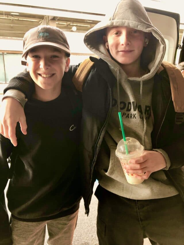 Roman from Camp Woodward and Kaleb