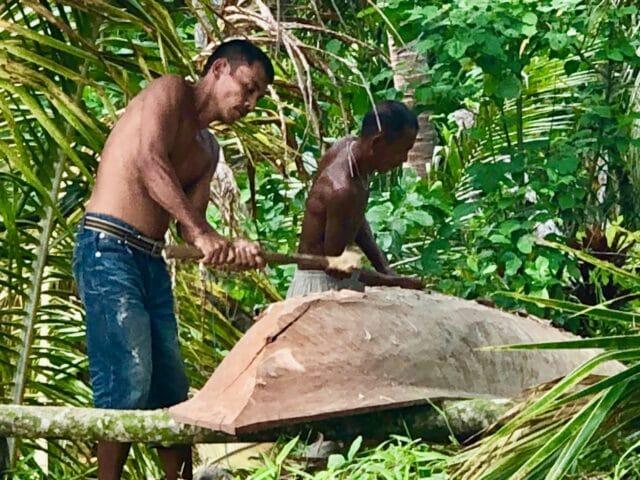 Natives in the Mentawai Islands