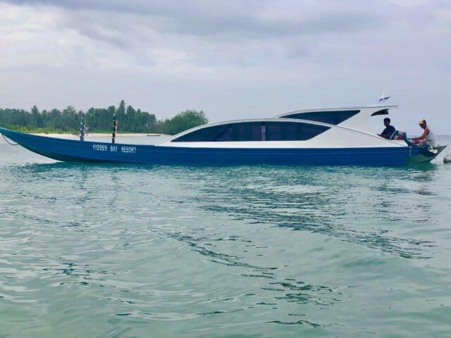 Hidden Baby Resort boat