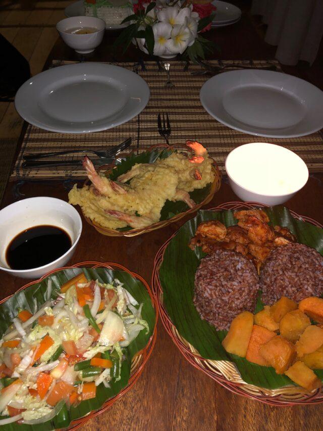 Mentawai Surf Resort romantic meal