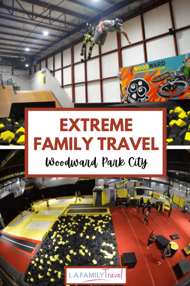 Woodward Park City is a fun place to go with kids for adventure family travel. Skateboarding, BMX biking, gymnastics, skiing, snowboarding indoors and outdoors is all available on this fun family trip to park city, utah!