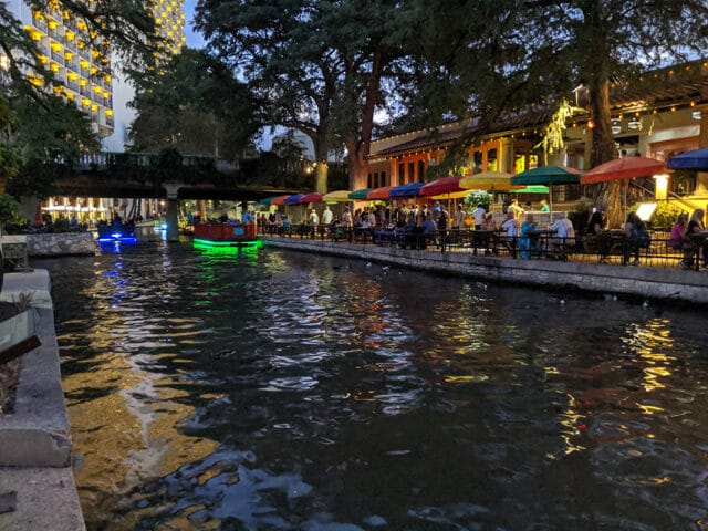 """Our family loves to explore downtown San Antonio. The gorgeous River Walk area offers local restaurants as well as familiar chains. Photo by <a href=""""https://www.flickr.com/photos/paulnich/"""">Paul Nicholson</a>."""
