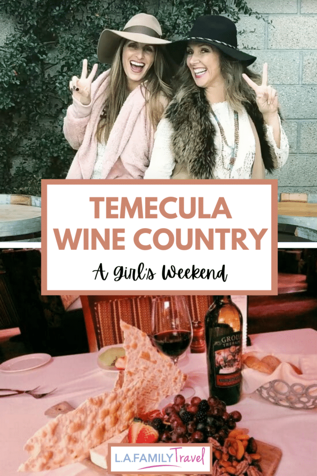 Every mom needs a time out. A time to regroup and connect with friends and herself. A perfect weekend getaway from Los Angeles is Temecula wine country. A list of fun activities to do while visiting Temecula.