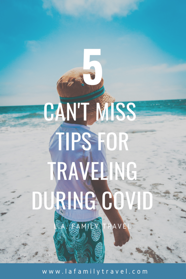 5 Can't Miss Tips for Traveling During COVID: I'm not sure when my family reached their breaking point in #quarantine. Maybe when Chicago got doused in apocalyptic rain. We're stuck inside and couldn't go outside without washing away. Learn the #traveltips we used for our #familytrip during #COVID