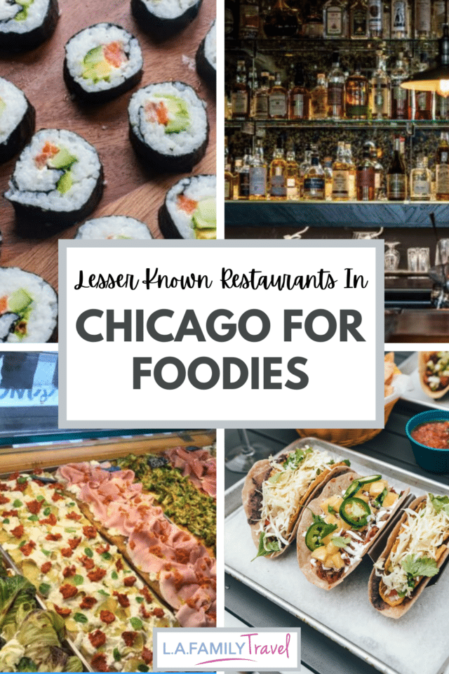 If you love good food,check out these restaurants in Chicago to have the most memorable culinary experience. Foodies rejoice! Whether you live locally or a visiting on a family trip to chicago, these restaurants won't disappoint!