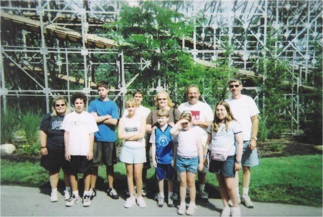 Family Photo, Roller Coaster