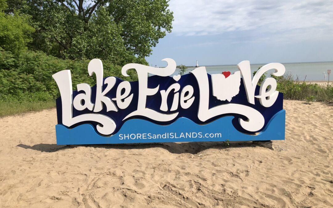 Beach, Lake, Erie, Ohio