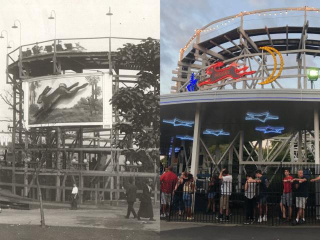 Kennywood, Pittsburgh, Roller Coaster