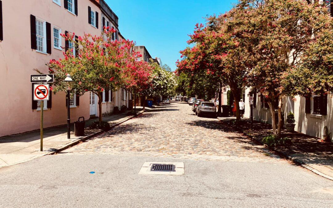 charleston in the fall
