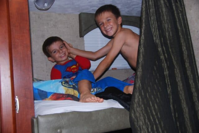 family camping tips in an rv
