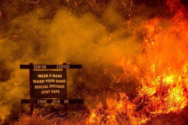 CZU Lightening Fire