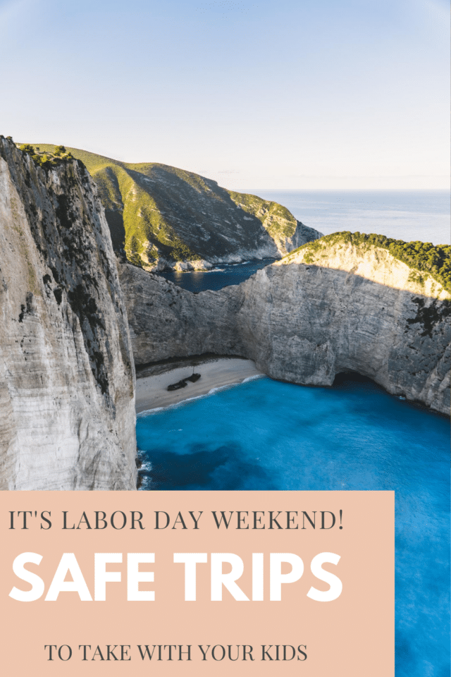 Plan the perfect trip from anywhere in the country to these destinations away from crowds! Enjoy your weekend in a beautiful outdoor setting with your kids during the Labor Day weekend. Something for every kind of family! #familytravelideas #familytraveldestinations #labordaytrips #familyweekendideas #familytraveltips