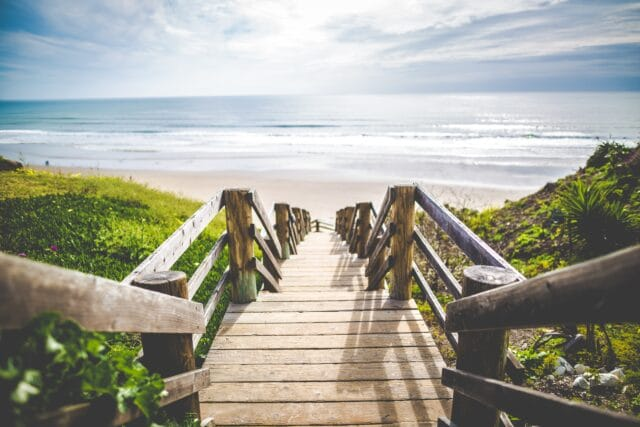 discover a beach for your labor day weekend trip