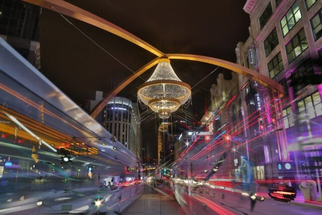 Chandelier, Playhouse Square