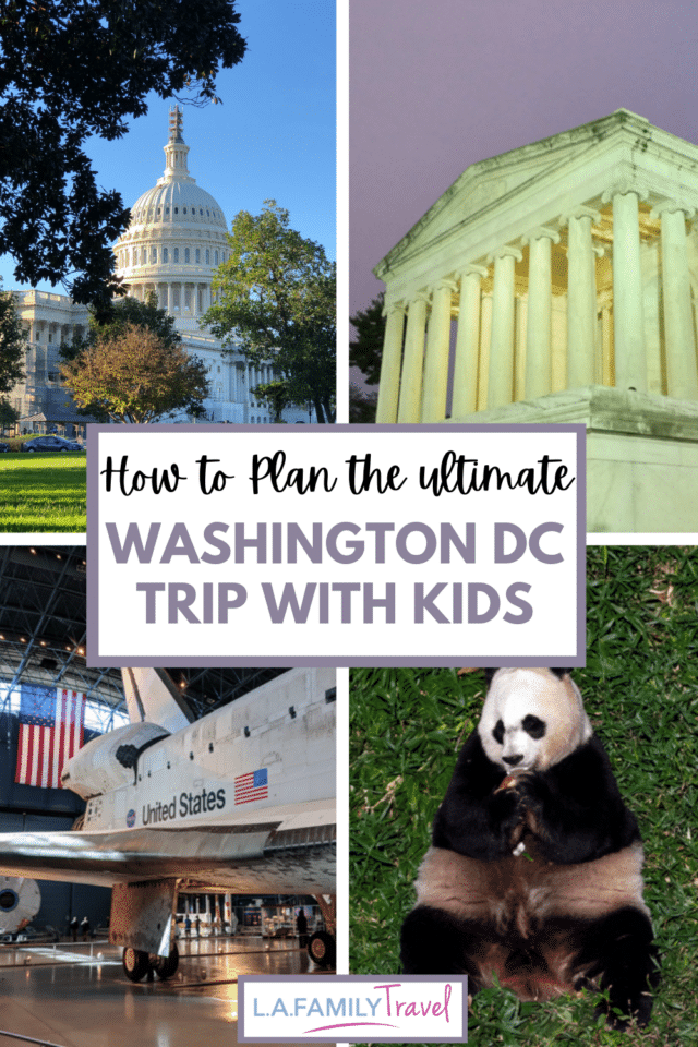 The best things to do in Washington D.C with kids and teens. From free museums to landmark monuments, see history where it happened and still happens.