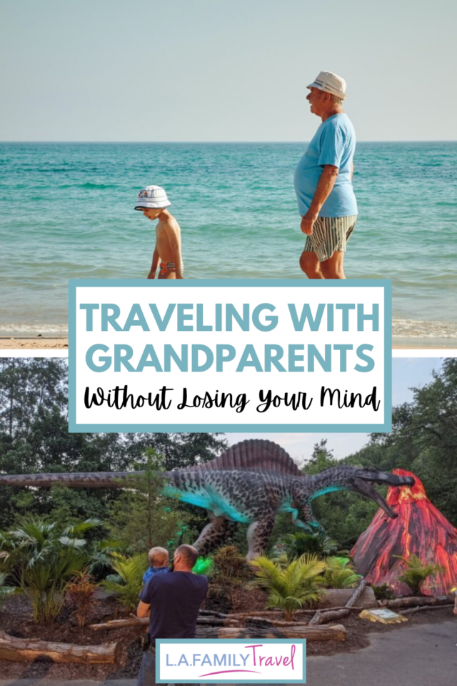 Traveling with grandparents can be tough but it can also be wonderful! Here are some not to miss tips on traveling with grandparents to make everyone's family vacation, a wonderful multigenerational family trip!