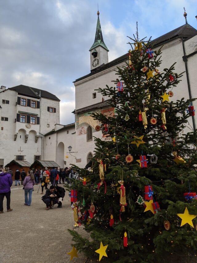 Fortress Hohensalzburg Christmas Market