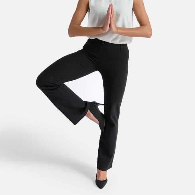 Betabrand yoga dress pants