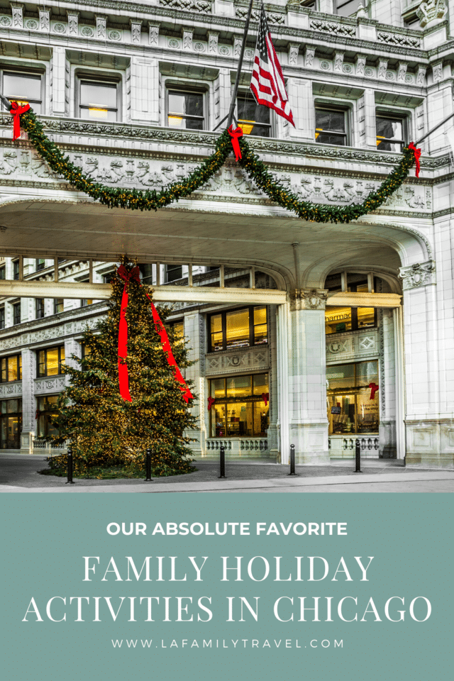 A family friendly, best of things to do with kids for the holidays in Chicago. Chicago is the place to be to celebrate all of the best of the holiday activities, things to to do with kids during the holidays in Chicago.