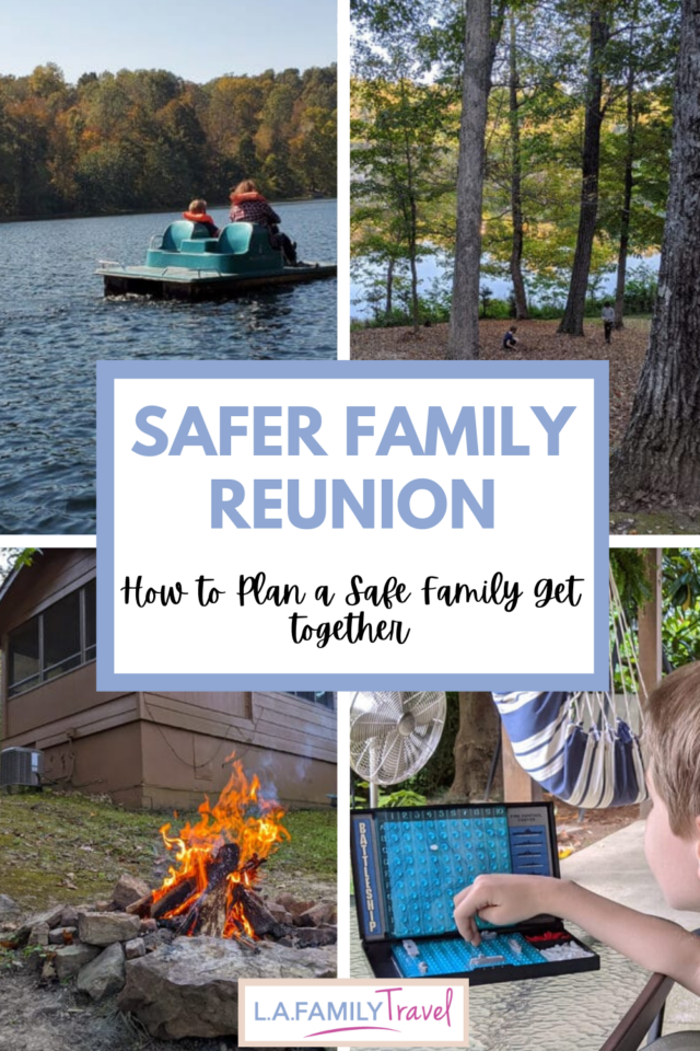 How to plan a safer family reunion during COVID pandemic