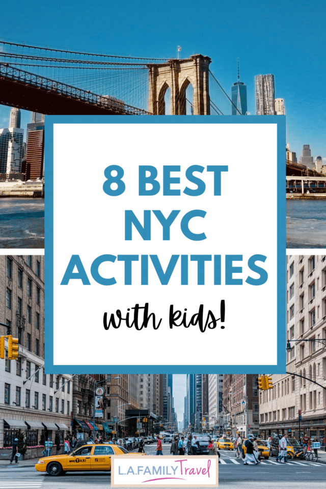 A visit to New York City with Kids isn't complete unless you make time for these 8 activities. Read our complete guide of things you can't miss traveling with kids to New York City.