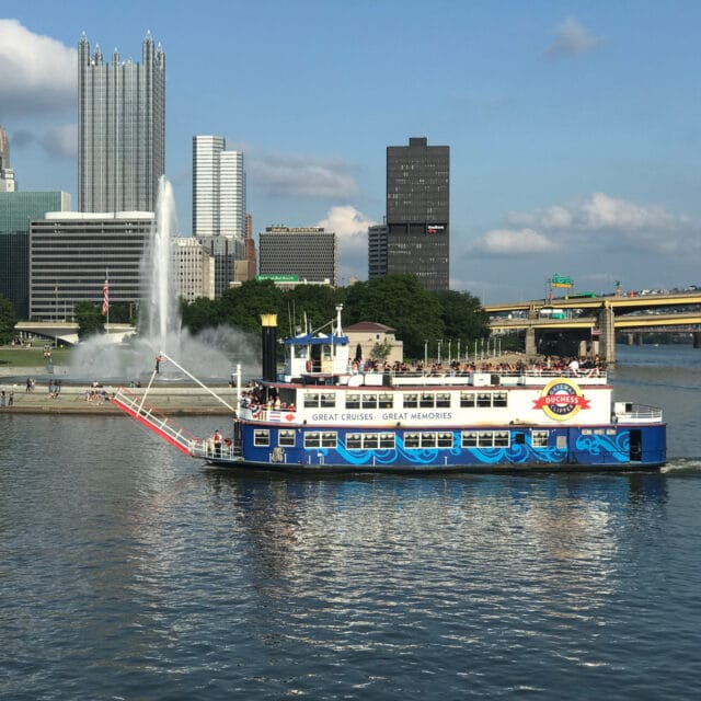 photo of gateway clipper riverboat