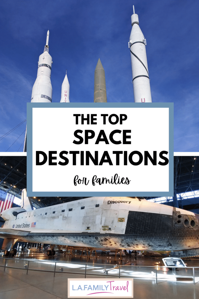 The best places to visit for kids who love space and science. Rocket ships and fun space exploration all over the united states.