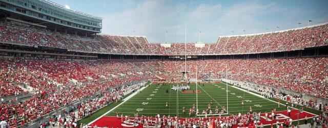 View of Ohio Stadium
