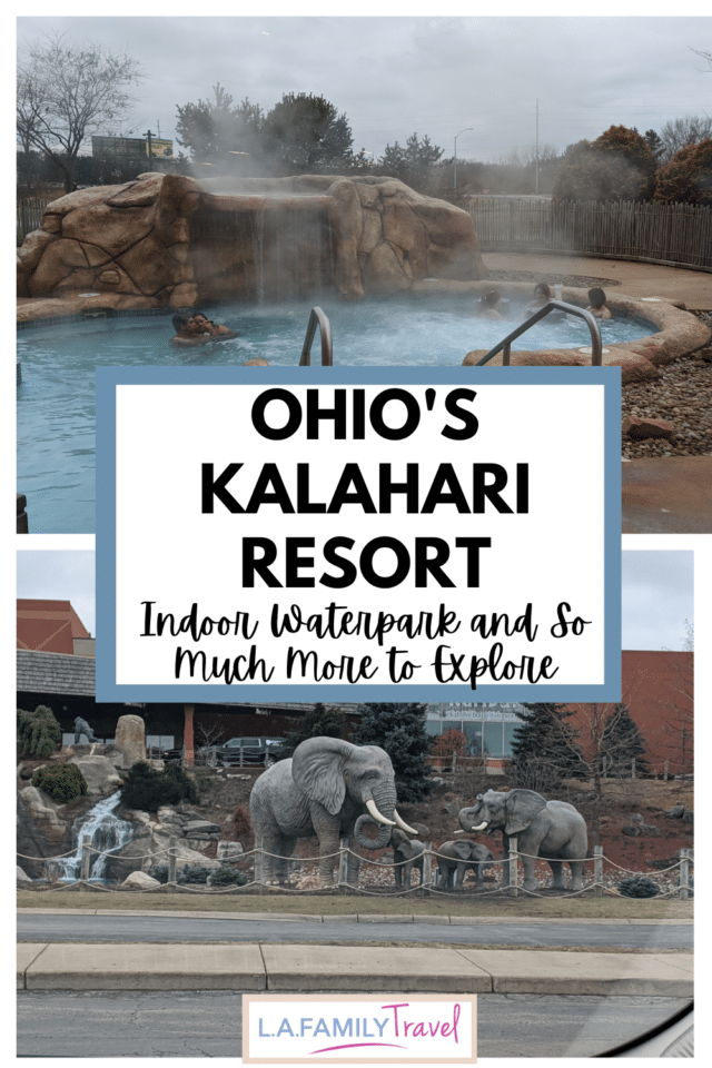 Ohio's winters are notoriously brutal, which makes Kalahari the perfect place for a weekend of fun and fake sun! The best indoor waterpark in Ohio for kids and teens.