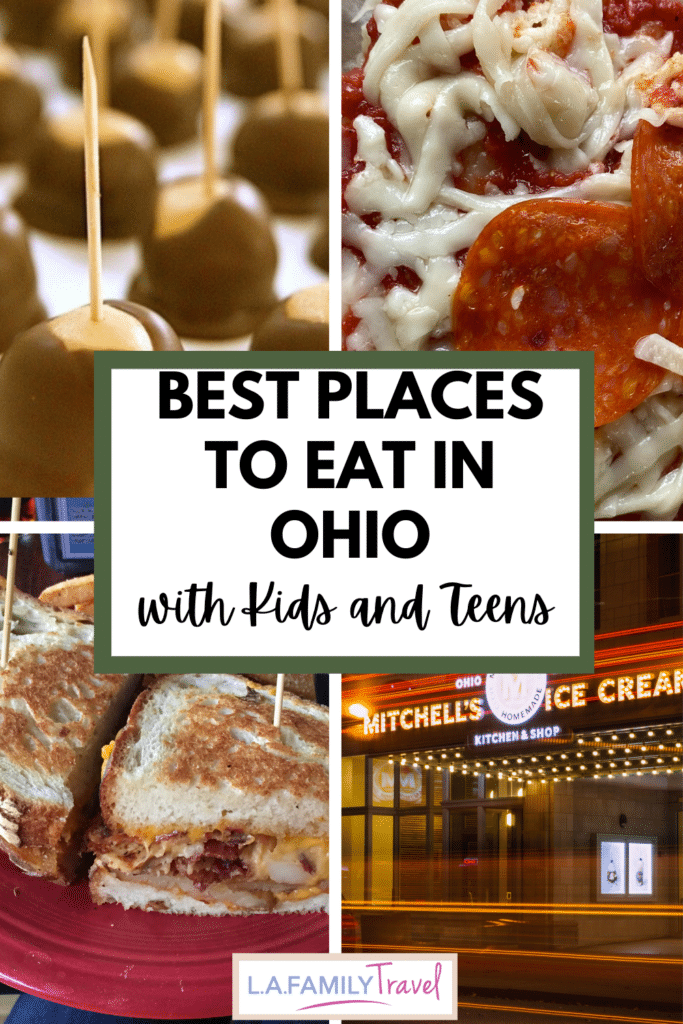 Skip the fast food on your next road trip and try the best food the Buckeye State has to offer!