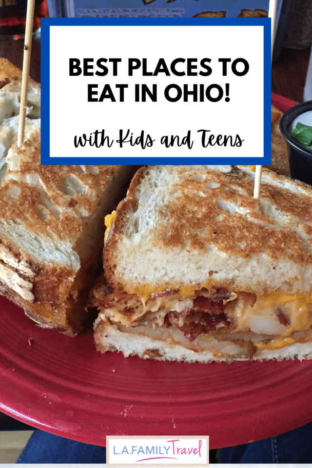 Skip the fast food on your next road trip and try the best food the Buckeye State has to offer! Find the best places to eat in Ohio for kids and teens!