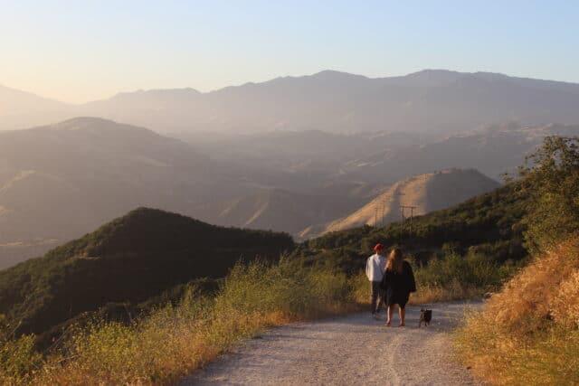 views, castle, california, family