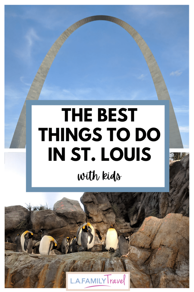 Pinterest image for The Best Things to Do in St. Louis with Kids