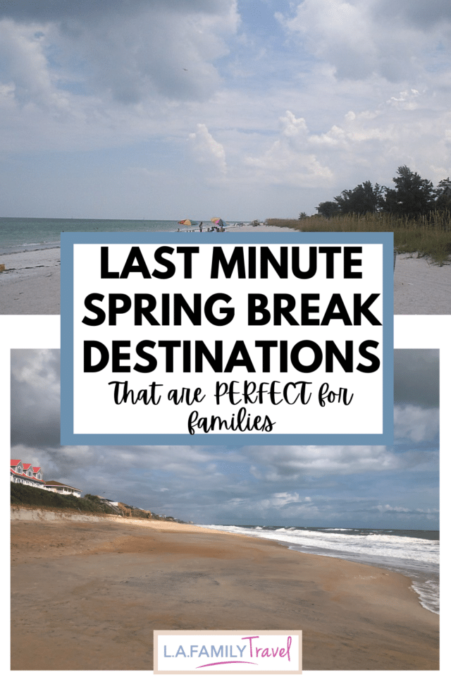 Need a spring break trip your kids won't hate? Don't worry fellow procrastinator parents, we've got you covered! Best last minute spring break trip ideas for families with kids of all ages.