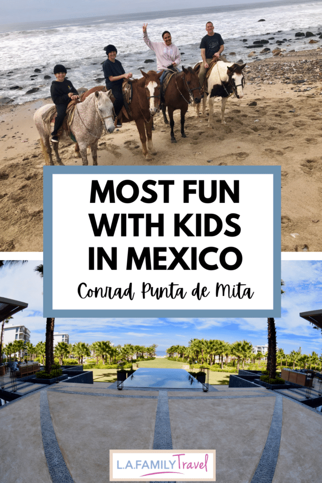 After being banished to Zoom School, we took our screens to the Conrad Punta de Mita resort in Mexico Riviera Nayarit. Here are the most fun things to do there with kids!