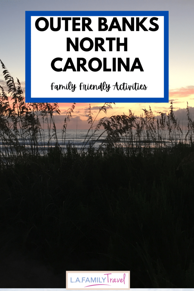 The Outer Banks is home to a lot of great family activities, from pirates, to beaches, to hunting for crabs!