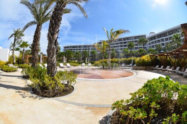 the main building...conrad punta de mita resort in mexico - riviera nayarit