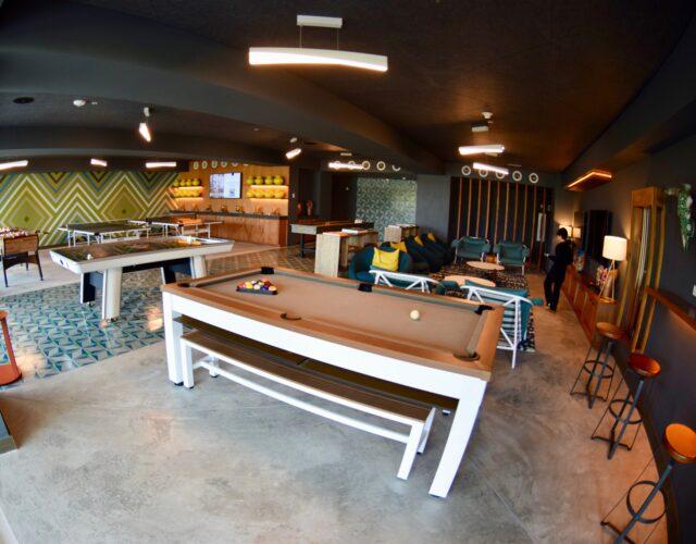 game room at conrad punta de mita resort in mexico - riviera nayarit