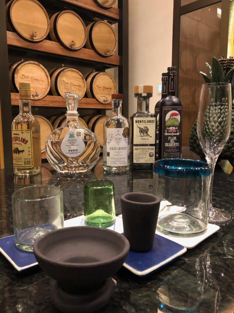 ancestral beverage tasting at conrad punta de mita resort in mexico - riviera nayarit