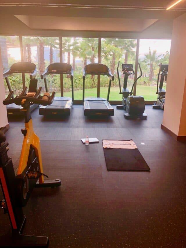 fitness center at conrad punta de mita resort in mexico - riviera nayarit