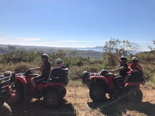 atv riding with vista pariaso agave studio at conrad punta de mita resort - what to do with kids and families