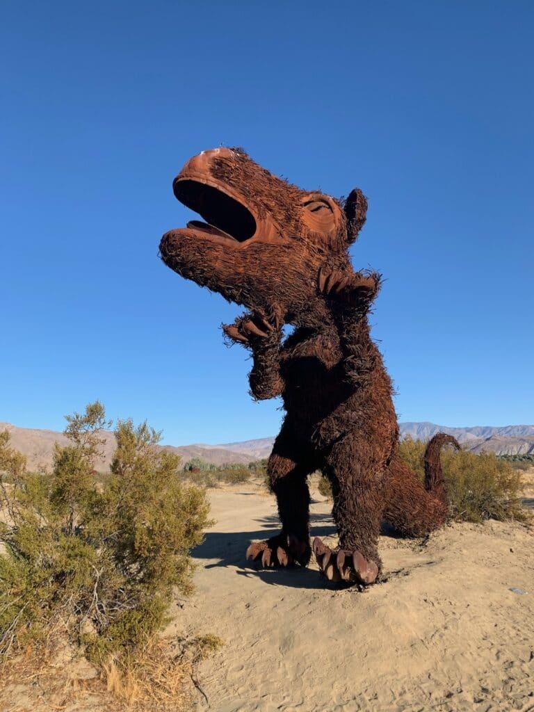 Galleta meadows desert sculpture