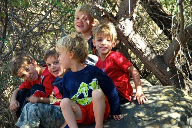 Camping at El Capitan with kids - nature trail
