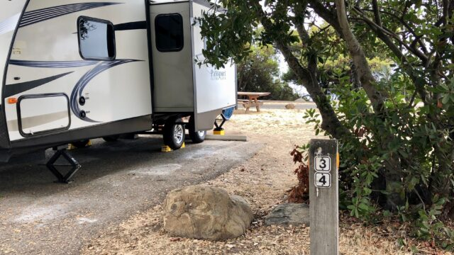 camping at el capitan with kids - campsite info