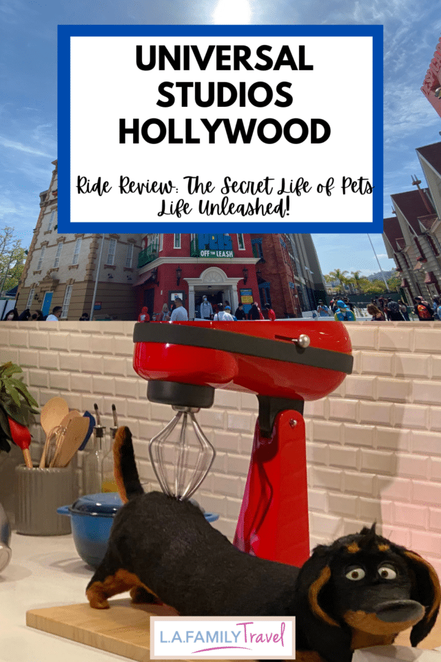 A RIDE REVIEW OF Universal Studios Hollywood's The Secret Life Of Pets: Off the Leash! Everything you need to know about the new ride.