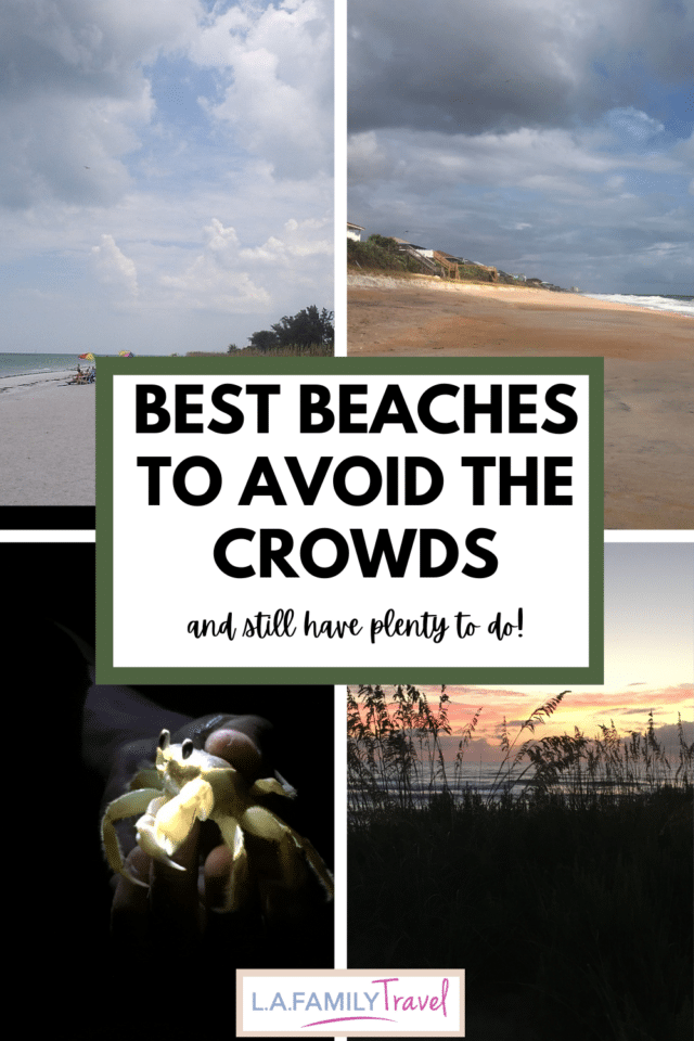 These are the perfect beaches for avoiding the crowds while still having options for activities!