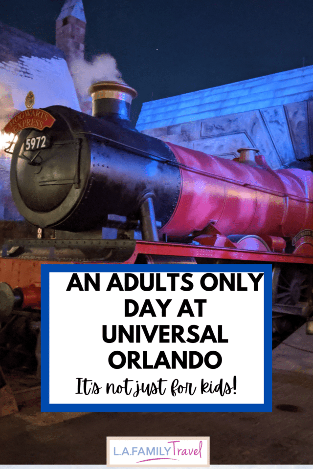 Universal Orlando Resort has lots of fun for adults too! Like a karaoke bar and a chocolate themed restaurant!