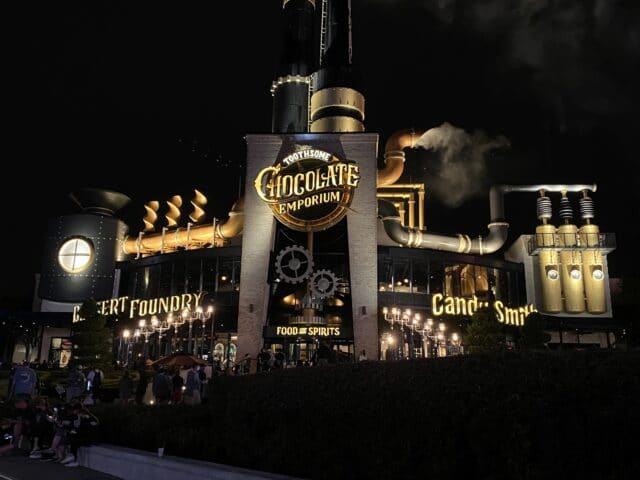 chocolate factory - Things to do at universal studios orlando for adults